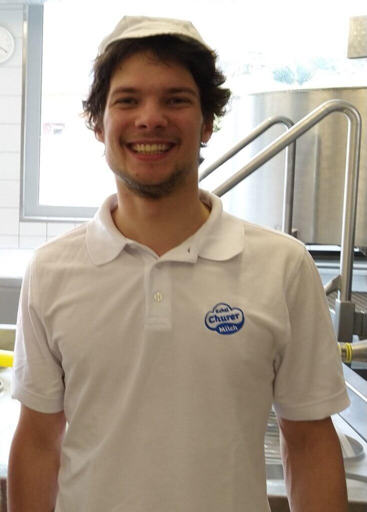 Daniel Hartmann, Milchpraktiker EBA